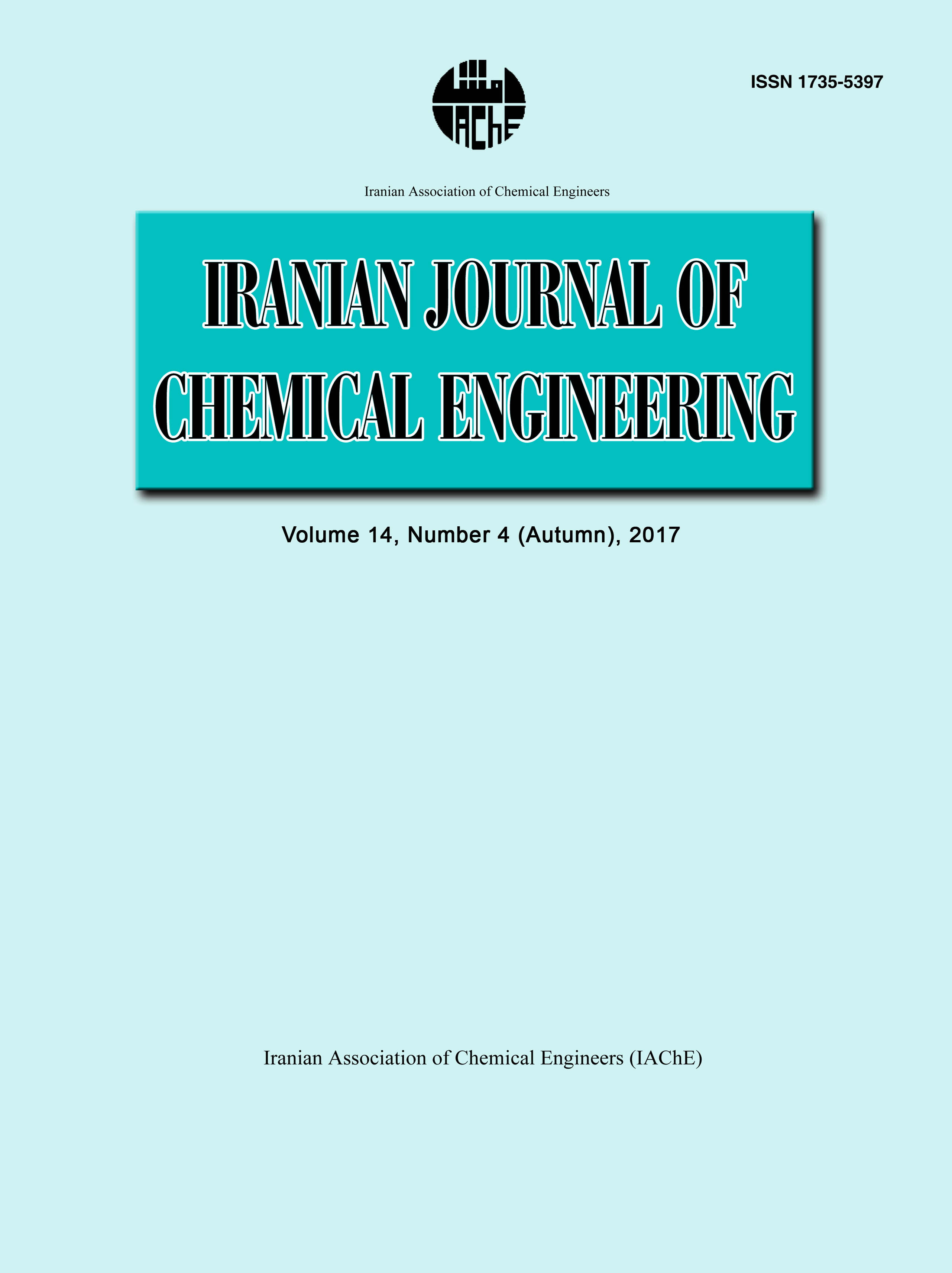 Iranian Journal of Chemical Engineering(IJChE)
